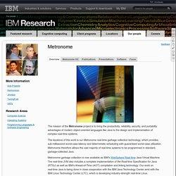 Metronome - IBM