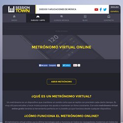 Metrónomo virtual online