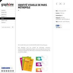 Identité Visuelle de Paris Métropole