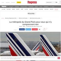 La métropole du Grand Paris pour ceux qui n'y comprennent rien