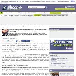Toulouse Métropole économise 1 million d'euros en migrant sur LibreOffice