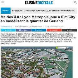 Mairies 4.0 : Lyon Métropole joue à Sim City en modélisant le quartier de Gerland