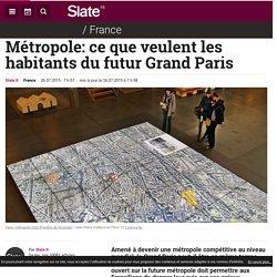 Métropole: ce que veulent les habitants du futur Grand Paris