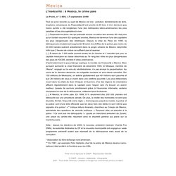Métropoles en mutation