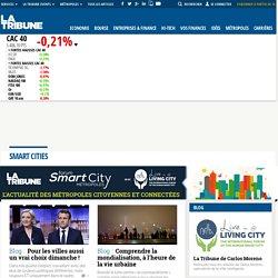 Smart cities : actualité des villes et métropoles intelligentes