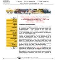 Métropoles : Le Caire