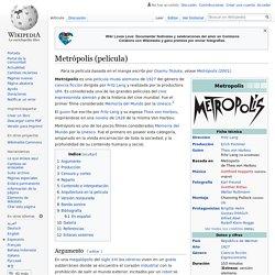 Metrópolis (película)