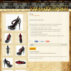 Steampunk Clothes and Shoes