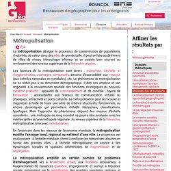 Métropolisation