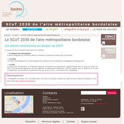 Le SCoT 2030 de l'aire métropolitaine bordelaise