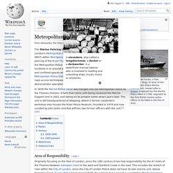 Metropolitan Police Marine Policing Unit