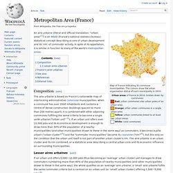 Metropolitan Area (France)