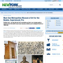Must-See Metropolitan Museum of Art for the Newbie, Experienced, Pro - December 9, 2015