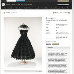 The Metropolitan Museum of Art - Dress, Evening