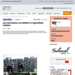 Chine : Les cols blancs se mettent à l'agriculture urbaine