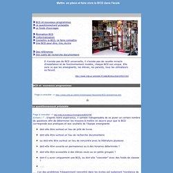 BCD- Mise en place et utilisation
