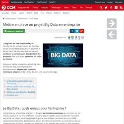 Mettre en place un projet Big Data en entreprise