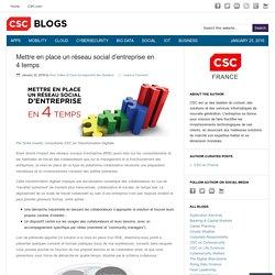 Mettre en place un réseau social d'entreprise en 4 temps – CSC Blogs