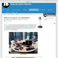 Mettre en place une WebRadio - Blog de Julien Delmas