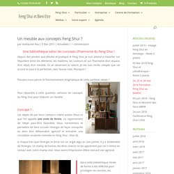 Un meuble aux concepts Feng Shui ? - Feng Shui et Bien Être