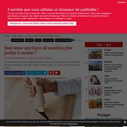 Maison : Ikea lance Lisabo une ligne de meubles, faciles à monter - 09/03/17