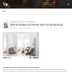 Vente de meubles sur internet: sortir son épingle du jeu