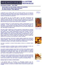 Meubles curieux et à systèmes : de Jean-François Oeben à Denis Bruyère. Un article de Vivian Miessen.