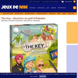 The Key - Meurtres au golf d'Oakdale: jeu de société chez Jeux de NIM
