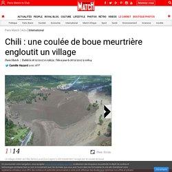 Chili : une coulée de boue meurtrière engloutit un village