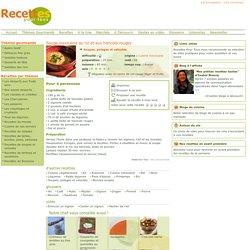 Soupe mexicaine au riz et aux haricots rouges