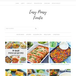 mexican Archives - Easy Peasy Foodie