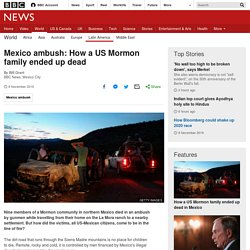 Mexico ambush: How a US Mormon family ended up dead