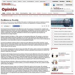 Pro-México vs. Pro-chile - Diario El Heraldo