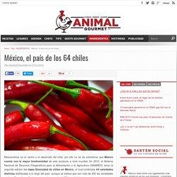 México, el país de los 64 chiles