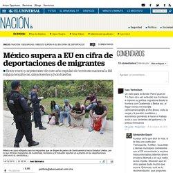 México supera a EU en cifra de deportaciones de migrantes