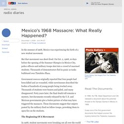 Mexico's 1968 Massacre: What Really Happened?