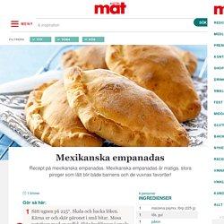 » Mexikanska empanadas – Recept – Allt om Mat
