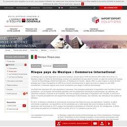 Risque pays du Mexique : Commerce international