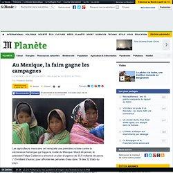 Au Mexique, la faim gagne les campagnes