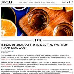 The Best Mezcals More People Should Know About