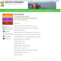 MFR de la Cerlangue : Une journée type à la MFR