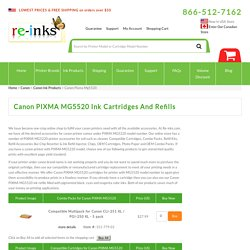 Canon PIXMA MG5520 Ink Cartridges