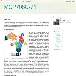 MGP708U-71: Le ERP
