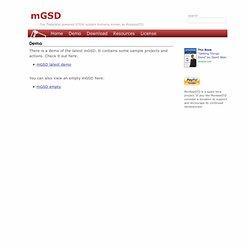 mGSD - Demo