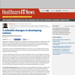3 mHealth changes in developing nations