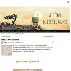 MHM : évaluations
