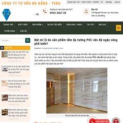 Bật mí lý do sản phẩm tấm ốp tường PVC vân đá ngày càng phổ biến?