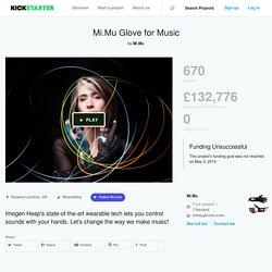 Mi.Mu Glove for Music by Mi.Mu