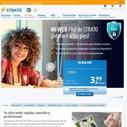 Mi Web Pro de STRATO: creador web desde 3,99€/mes