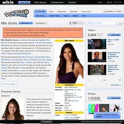 Mia Jones - Degrassi Wiki